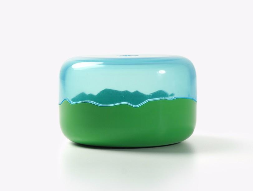 Boite Landscape en polymer, Sebastian Bergne