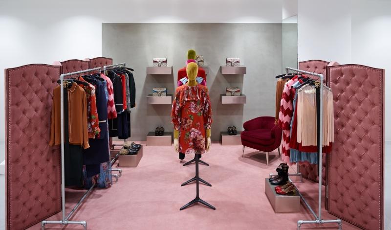 Boutique Gucci de Diver Street Market à New York