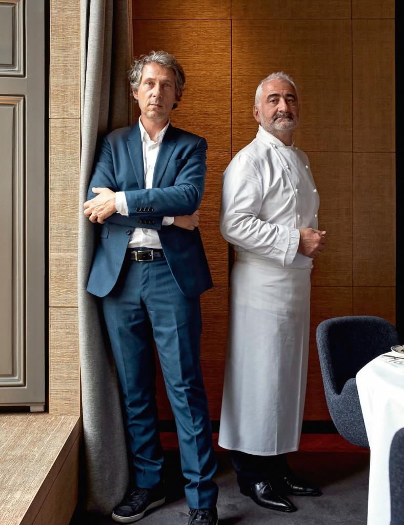Bruno Moretti et Guy Savoy
