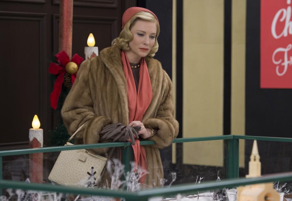 "Cate Blanchett dans le film ""Carol"" photo Sarah Paulsonc |Copyright Wilson Webb / DCM"
