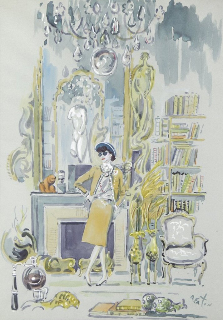 Cecil Beaton, 1967 Chanel National Portrait Gallery London:Bonhams 1793 Ltd