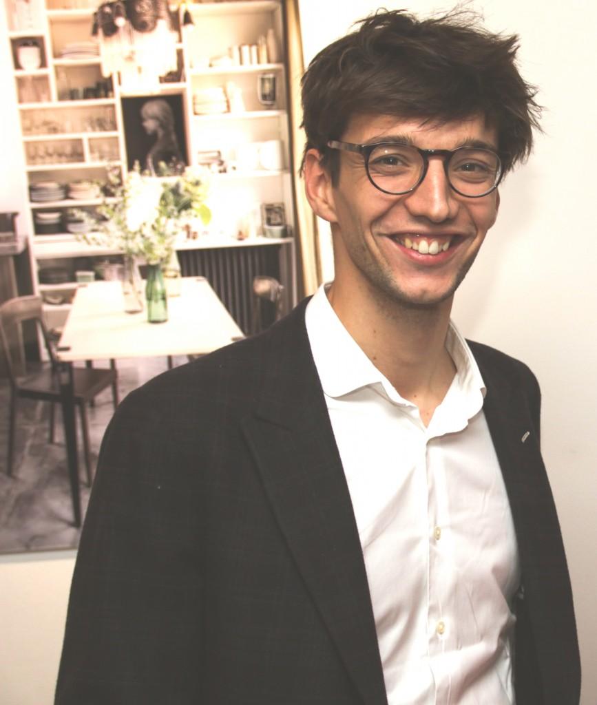 Créateur du concept Tiptoe Matthieu Bourgeaux