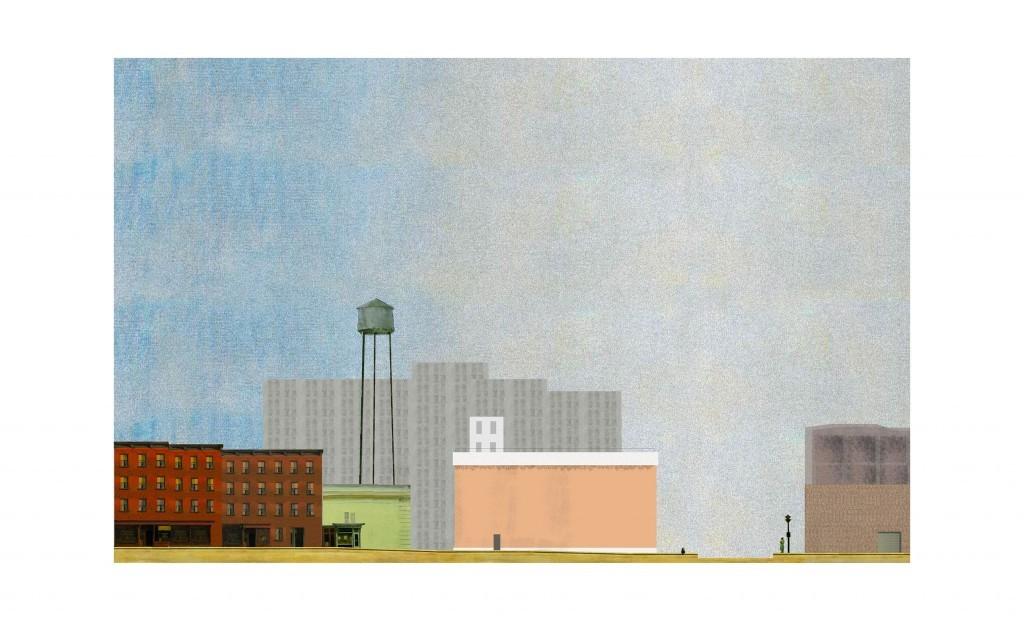 Elevation 2013 collage par Elvire Amoura