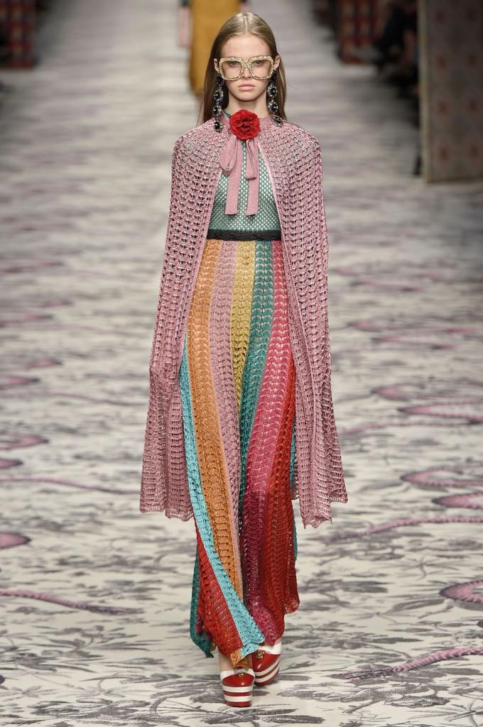 Gucci prêt à porter 2016 crédit photo Gucci Ready to wear spring summer 2016 MILAN september 2015