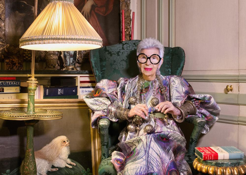 Iris Apfel, photo Gabriel de la Chapelle