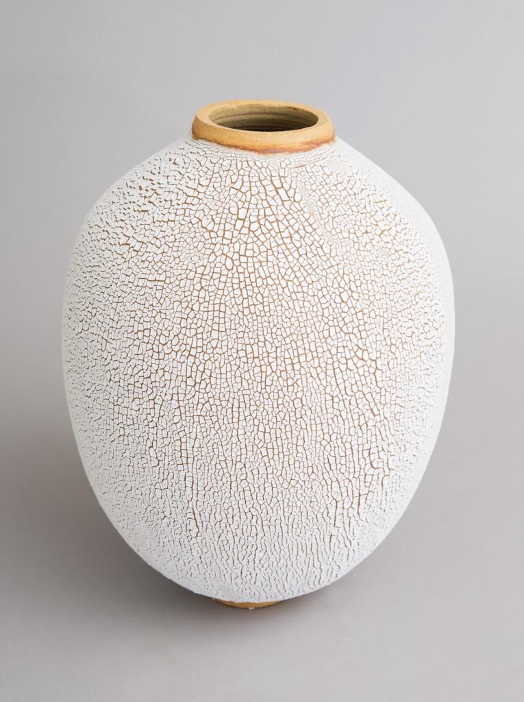 vase façon galuchat