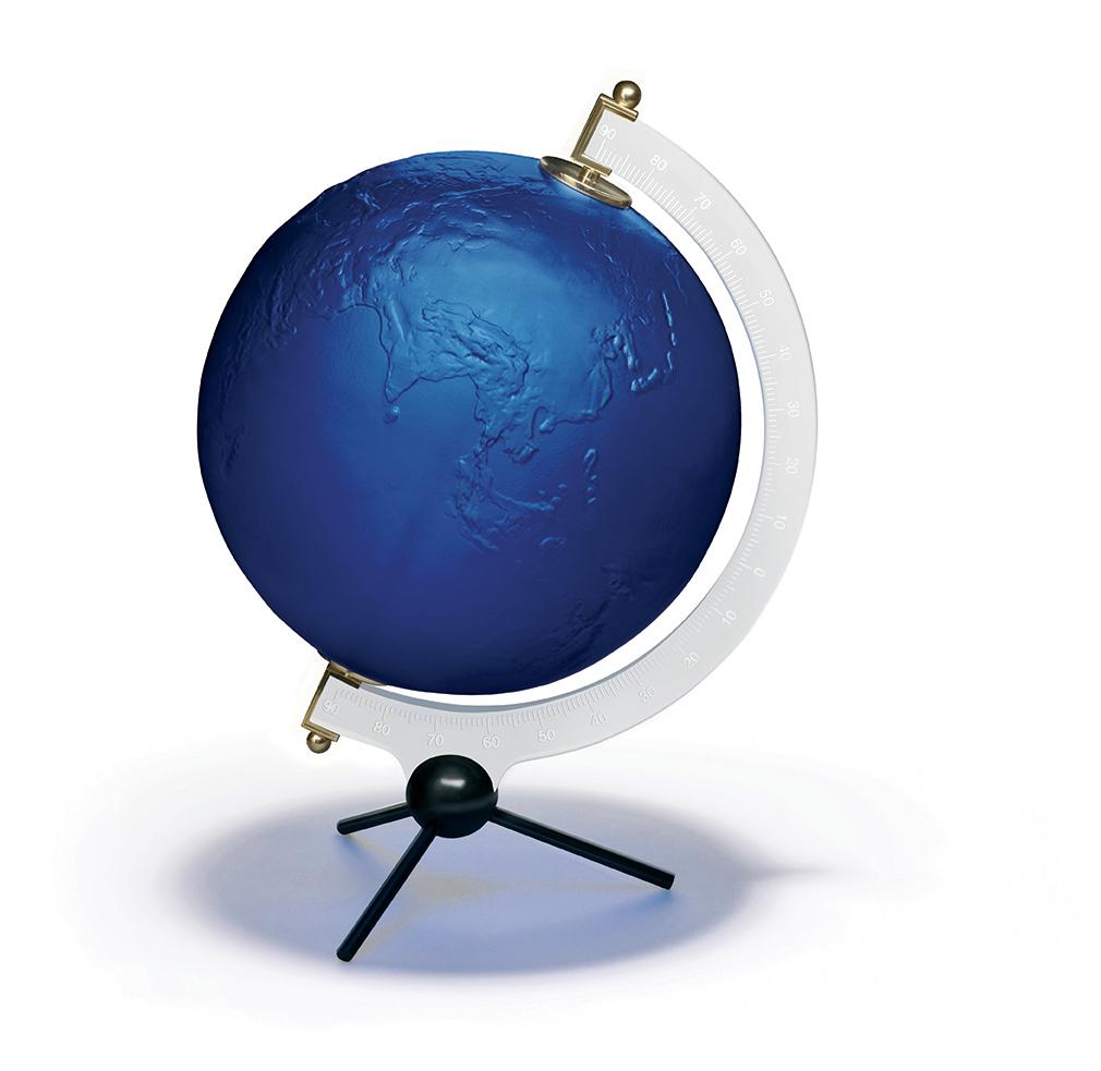 """La Terre Bleue"" Yves Klein pour Lalique"