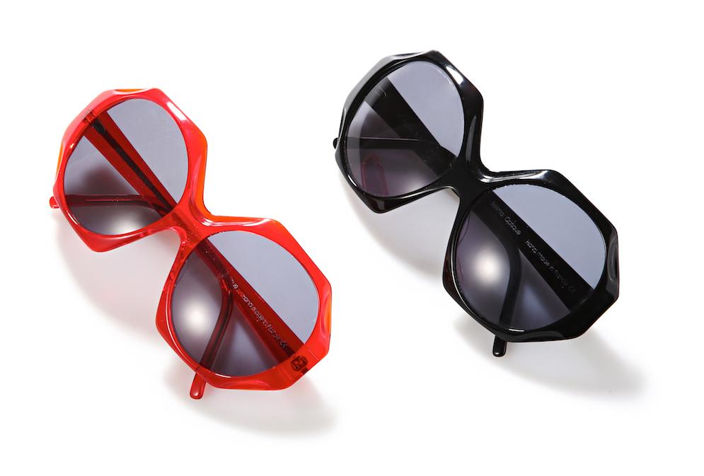 Lunettes de soleil Selima Optique, Le Bon Marché Rive Gauche, Iris Apfel