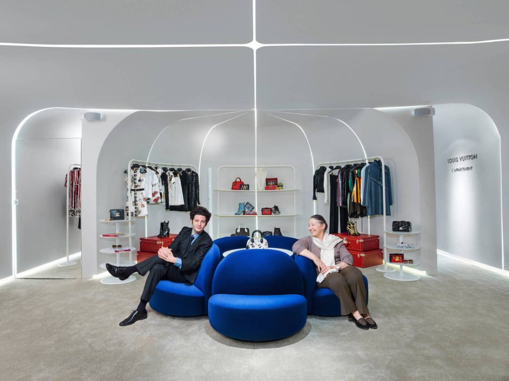 Maïa et Benjamin Paulin dans l'Appartement Louis Vuitton Hong Kong mars 2015 Paulin, Paulin, Paulin