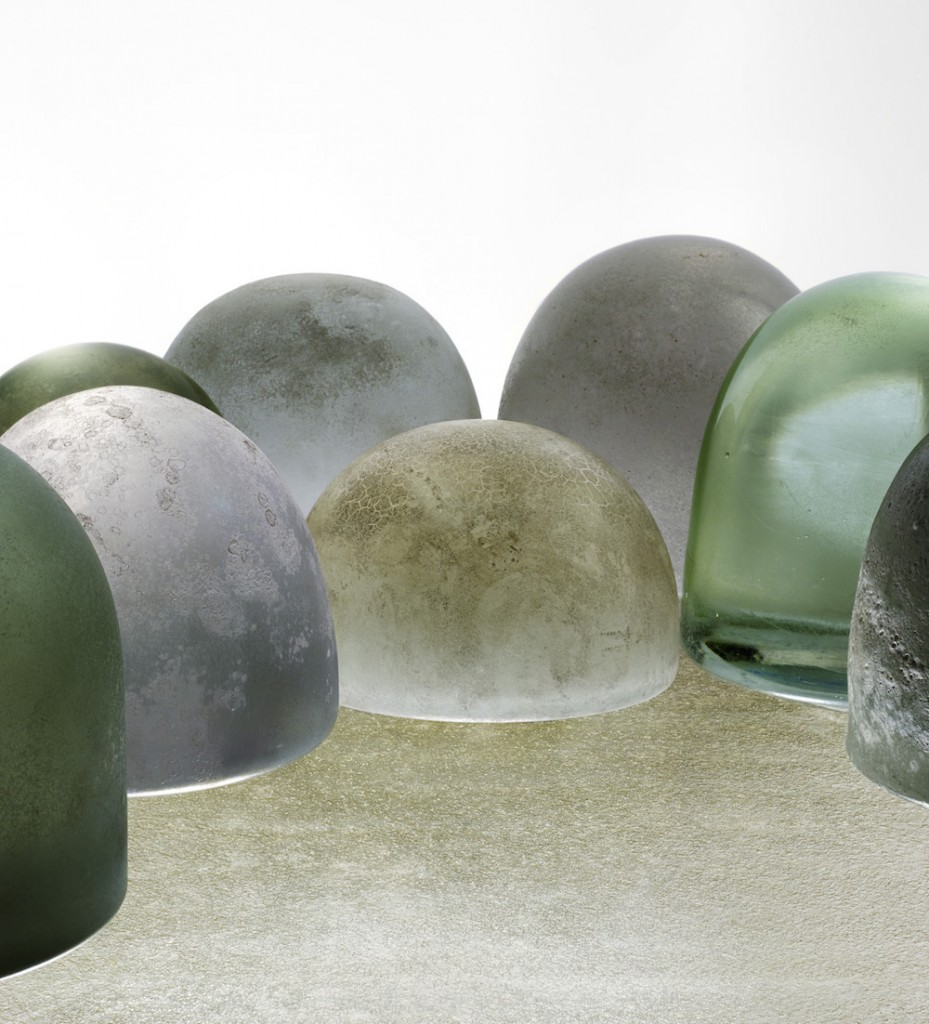 Robert Wilson Glass Works © Marie Clérin Laffanour Galerie Downtown, Paris
