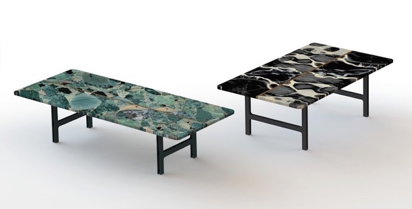 L 39 objet de la semaine loeilede for Table basse marbre design