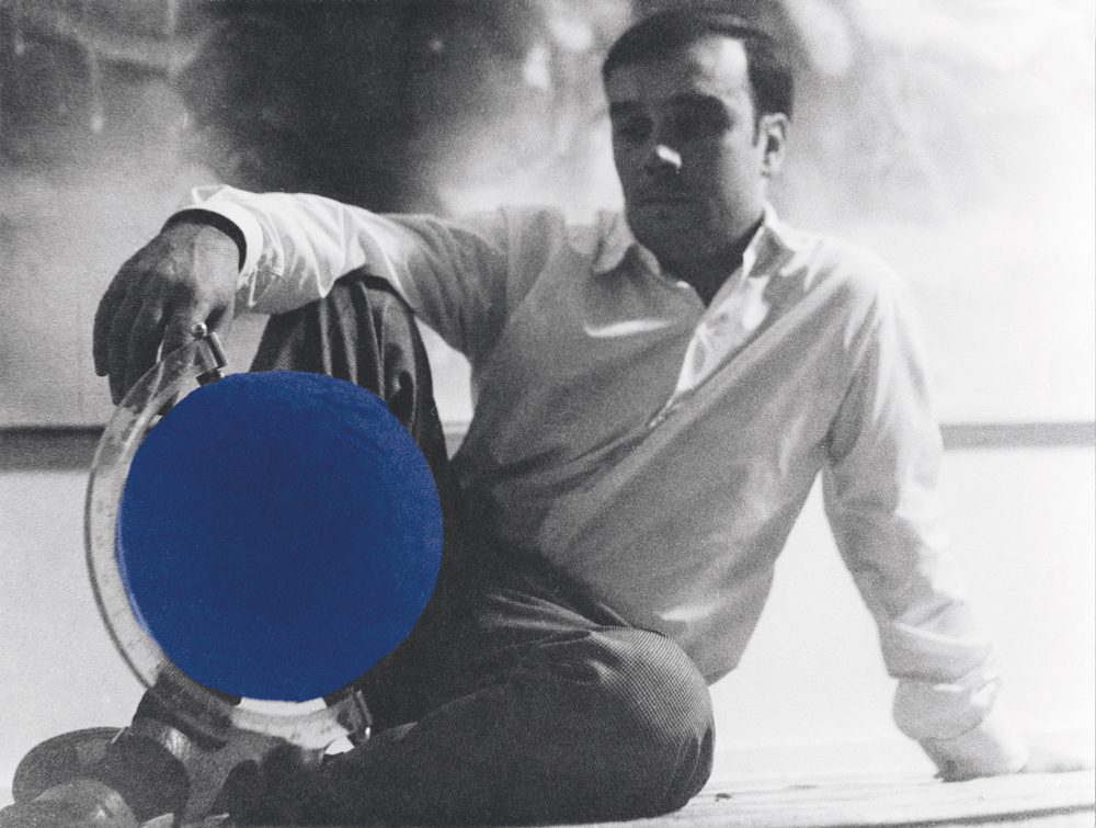 yves klein by lalique