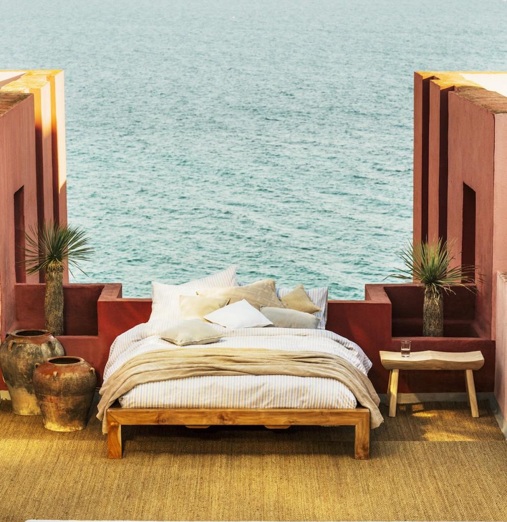 Parure de lit, coussins, plaid Miami, Zara Home